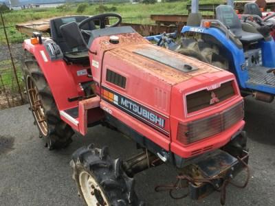 MITSUBISHI MT20D 56391 used compact tractor |KHS japan