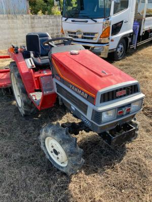 YANMAR F165D 712319 usd compact tractor |KHS japan