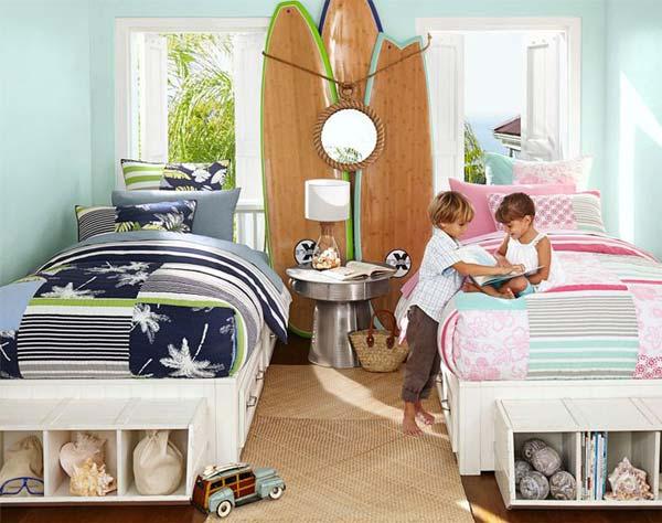 21 smart and creative girl and boy shared bedroom design ideas. Black Bedroom Furniture Sets. Home Design Ideas
