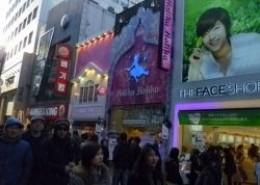 Myeongdong Shopping in Seoul