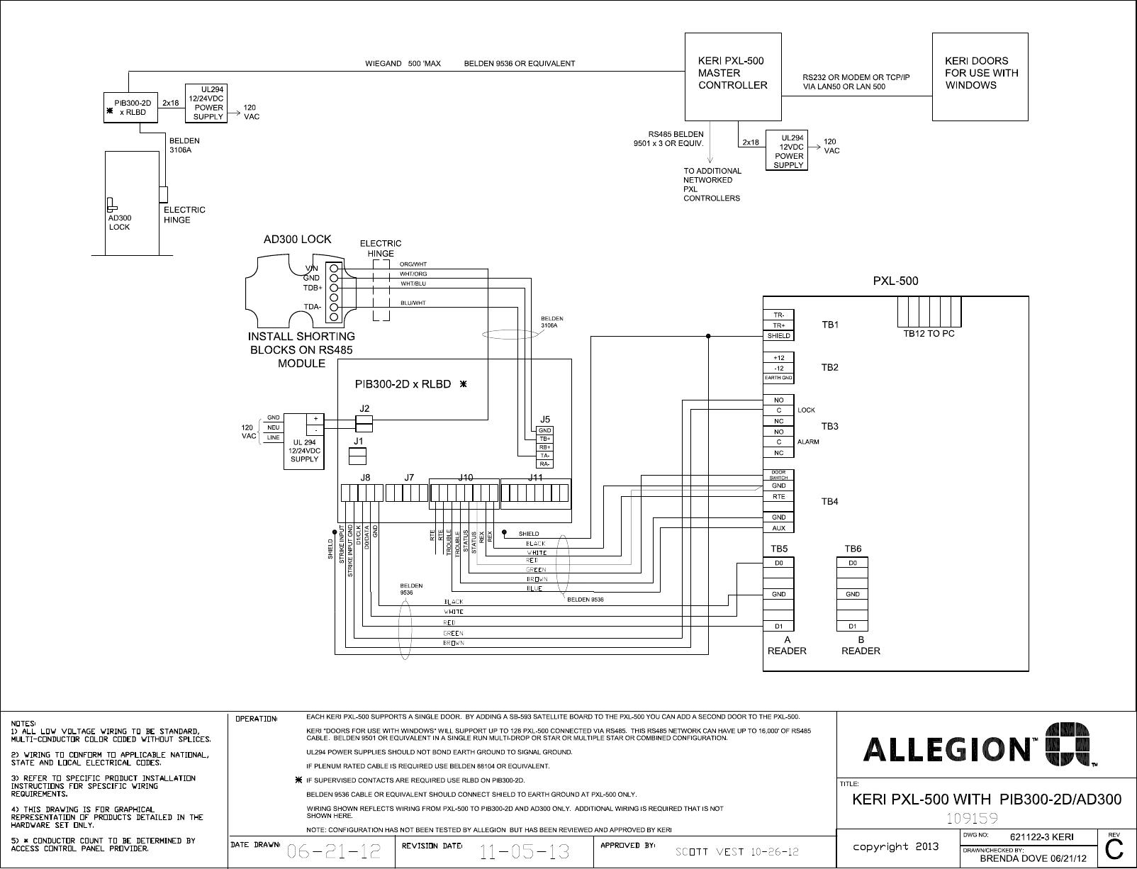 Schlage Maglock Wiring A Diagrams Securitron Diagram Electronics C Ad 400 Pim400 485 With Keri Rh Smdqueen Co M450 Locknetics M490