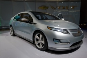 The Chevrolet Volt is a plug-in hybrid electric vehicle manufactured by General Motors.  Source: Wikipedia