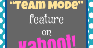 "New ""Team"" Feature for Kahoot!"