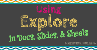 """Using the New """"Explore"""" feature in GAfE Programs"""