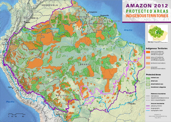 Amazon 2012 Protection Areas