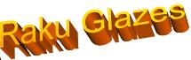 Raku Glazes
