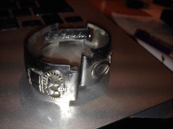 Scott Gossler's watchband made in Subic Bay image