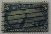 1898 Fremont 5c