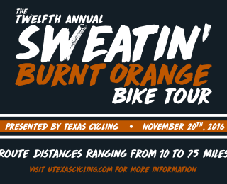 Sweatin' Burnt Orange Bike Tour 2016