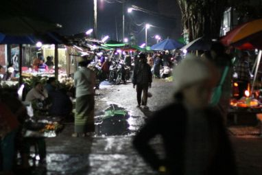 Le marché fermier de Hispaw a lieu de 2h à 8h du matin