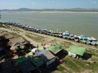 Le port de Old Bagan
