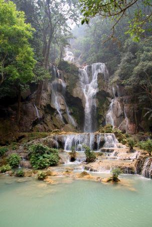 La cascade Kuang Xi