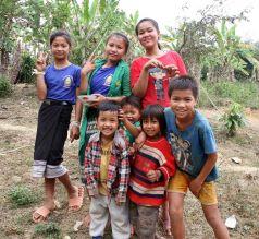 Les enfants rencontrés dans les villages alentours