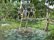Balade dans la campagne du delta du Mekong