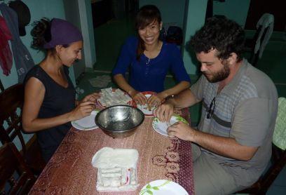 Cours de cuisine dans notre maison d'hôte!