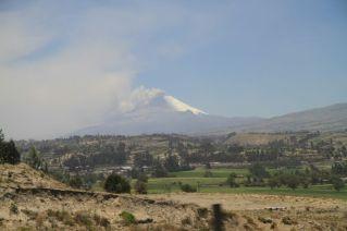 Le Cotopaxi en éruption