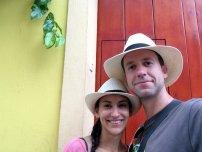 ... le style colonial jusque dans le chapeau