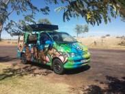 ... avec notre superbe van!