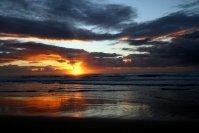 """Lever de soleil sur """"75 Miles Beach"""" (Fraser)"""