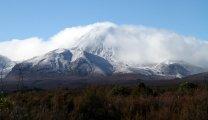 On a attendu et on l'a vu... ou presque: le volcan Ngauruhoe (ou Mordor dans le Seigneur des anneaux)