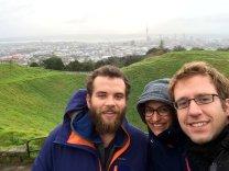 Et on va faire un tour sur le Mt Eden, un des nombreux volcans sur lesquels Auckland est construite!
