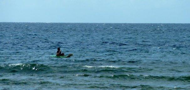 Un petit tour en kayac