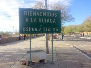 Bienvenue en Argentine. Ushuaia j'y retournerai bien, mais ça fait un poil loin...