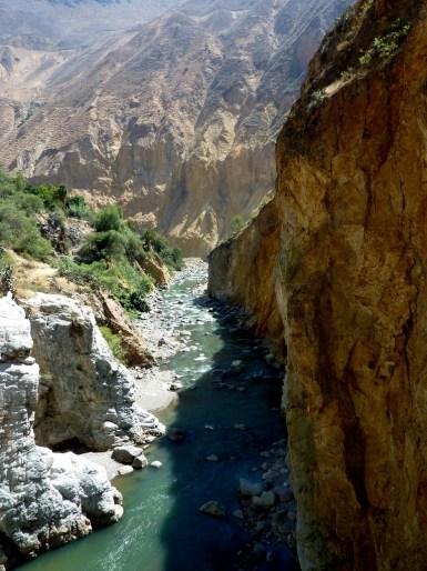 La rivière Colca