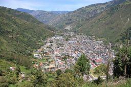La ville de Baños