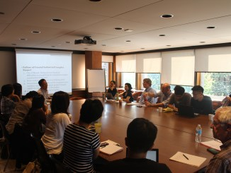 A photo of Centre for the Study of Korea event on 24 September, 2015 | Image: Asian Institute, University of Toronto