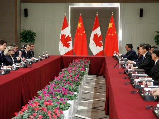 Prime Minister Justin Trudeau meets with President Xi Jinping of China on the margins of the G20 Summit in Turkey on 16 November 2015 | Image: Prime Minister's Office (Canada)