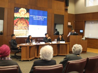A photo of Dr. David Chu Program in Asia-Pacific Studies event on 14 March, 2016 | Image: Asian Institute, University of Toronto