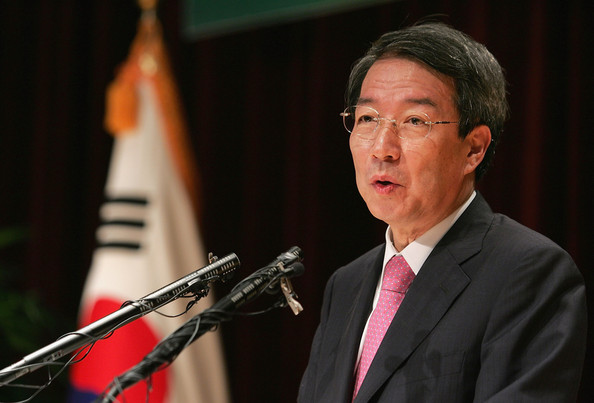 A 29 September 2009 photo of the former South Korean Prime Minister Chung Un-Chan at the inauguration ceremony in Seoul, South Korea I Images: Chung Sung-Jun/Getty Images AsiaPac