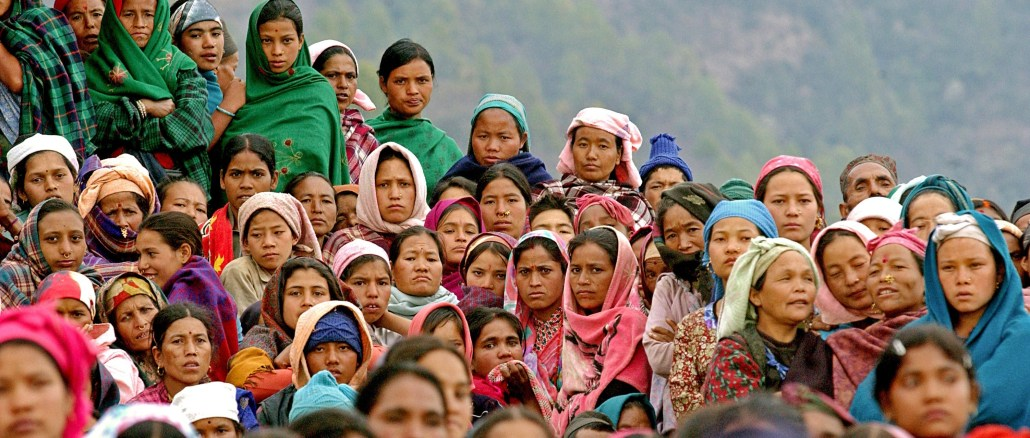 """The cover photograph from """"The Missing Piece of the Puzzle: Caste Discrimination and the Conflict in Nepal"""" I Credit: Center for Human Rights and Global Justice at NYU Law"""