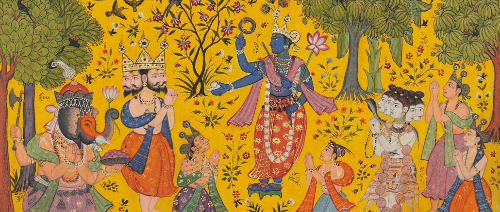 Shankara Ragaputra of Megh Raga, Sub-imperial Mughal | Source: Christie's