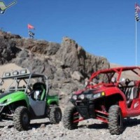 Exploring Dumont Dunes with UTVs