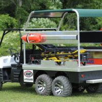 ASAP just introduced it's highly anticipated beach-front rescue vehicle, the LifeGuard