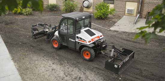 Toolcat 3 Point Hitch : Toolcat has three point hitch pto and front lift arm