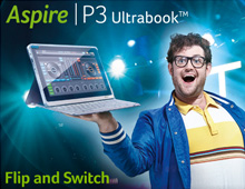 Acer Aspire P3 Ultrabook – Superstar DJ campaign