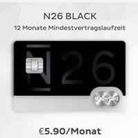 """N26 wird Makler und bringt """"Premium-Konto"""" N26 Black mit Laufzeit"""