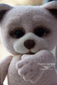 Мишка. Автор работы Светлана Мамонтова.  Фото: Евгения Архипова