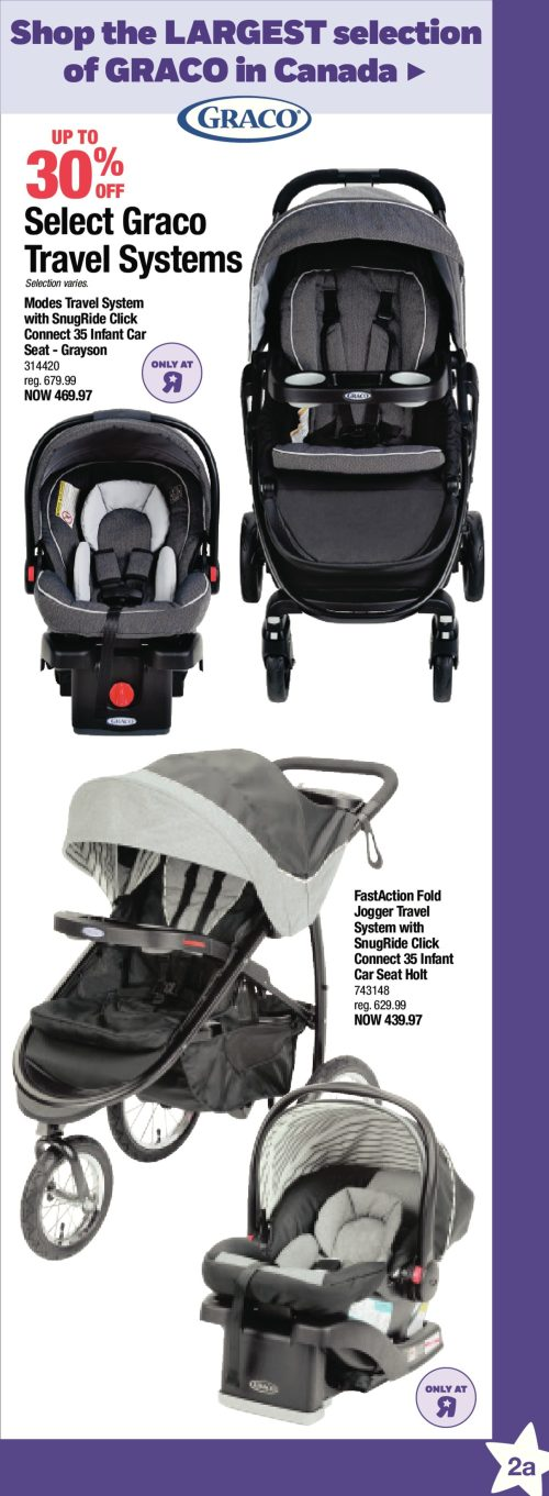 Classy Babies R Us Weekly Flyer Boxing Week Dec Babies R Us Weekly Flyer Boxing Week Dec Graco Modes Click Connect Travel System Reviews Graco Modes Click Connect Travel System Snugride 35 Car Seat