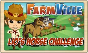Farmville Lio's Horse Challenge