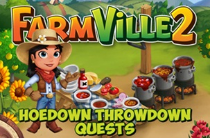 Farmville 2 Hoedown Throwdown Quests