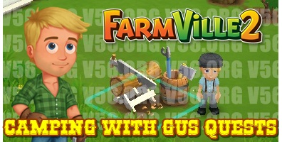 Farmville 2 Camping with Gus Quest