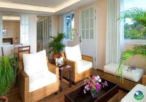 Gaia Hotel Manuel Antonio Sitting Area