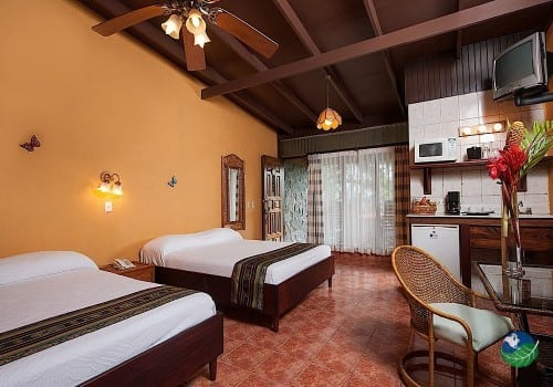 Hotel Arenal Lodge Bedroom