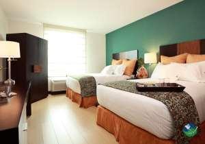 Hotel Indigo Two Bed Bedroom