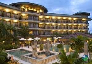 Hotel Royal Corin Exterior & Pool
