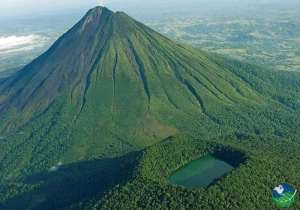 Arenal Volcano and Cerro Chato View